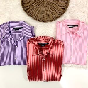 Ralph lauren long-sleeve non-iron shirt bundle 3